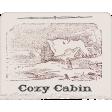 Rustic Honeymoon Cozy Cabin Paper Clipping