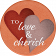 Rustic Wedding Love Sticker