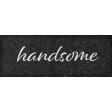 Rustic Wedding Handsome Word Art