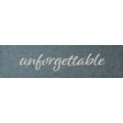 Rustic Wedding Unforgettable Word Art