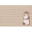 Rustic Wedding Journal Card Cake 4x6