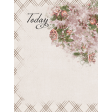 Rustic Wedding Journal Card Today 3x4