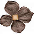 Lets Fika Element Flower Brown