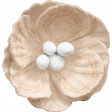 Lets Fika Cream Flower