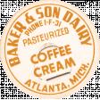 Lets Fika Coffee Cream Milk Cap