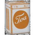 Lets Fika Vintage Tea Cannister