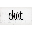 Lets Fika Chat Word Art Snippet