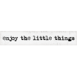 Lets Fika Little Things Word Art Snippet