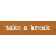 Lets Fika Break Word Art Snippet