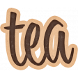 Lets Fika Tea Word Art