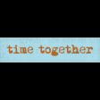 Lets Fika Time Together Word Art Snippet