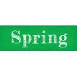 Spring Skies Mini Spring Word Art Snippet