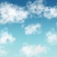 Spring Skies Mini Blue Skies Paper