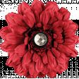 Nana's Kitchen Red Flower
