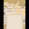 Nana's Kitchen Journal Card Handwriting 3x4