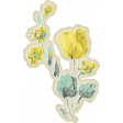 Naturally Curious Flower Sticker