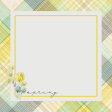 Naturally Curious Spring 4x4 Journal Card