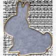 Mulberry Bush Enamel Bunny
