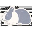 Mulberry Bush Bunny Sticker