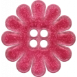 Mulberry Bush Pink Button