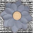 Mulberry Bush Gray Flower