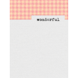 True Friend Wonderful 3x4 Journal Card