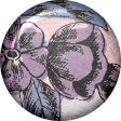 True Friend Purple Vintage Flower Flair
