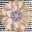 Shabby Chic Beige Flower
