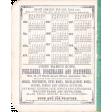 Shabby Chic Calendar Vintage Ephemera
