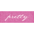 Shabby Chic Pretty Word Art