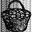Chicken Stamps No. 1 Egg Basket