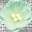 Backyard Summer Element Flower Mint Green