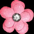 Backyard Summer Element Flower Pink