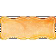 Backyard Summer Element Label Orange