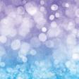 Backyard Summer Purple Bokeh Paper