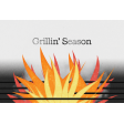 Backyard Summer Grillin' Season 4x6 Journal Card