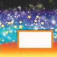 Backyard Summer Sky 4x4 Journal Card