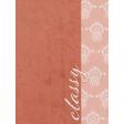 Classy - Classy 3x4 Journal Card