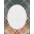 Classy Plaid 3x4 Journal Card