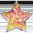 Sparkle & Shine Yellow Star Brad