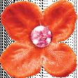 Sparkle & Shine Orange Flower
