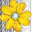 Sparkle & Shine Yellow Flower