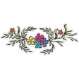 Sparkle & Shine Flowers Sticker