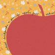 Backpack And Pencils Apple 4x4 Journal Card