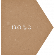 Camp Out : Lakeside Note Label