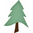 Camp Out : Lakeside Tree Sticker Aternate