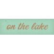 Camp Out : Lakeside Lake Word Art