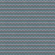 Camp Out : Woods Blue Chevron Paper