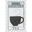 Going To The Bookstore Postage Stamp Tea