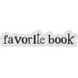 Going To The Bookstore Word Art Sticker Favorite Book